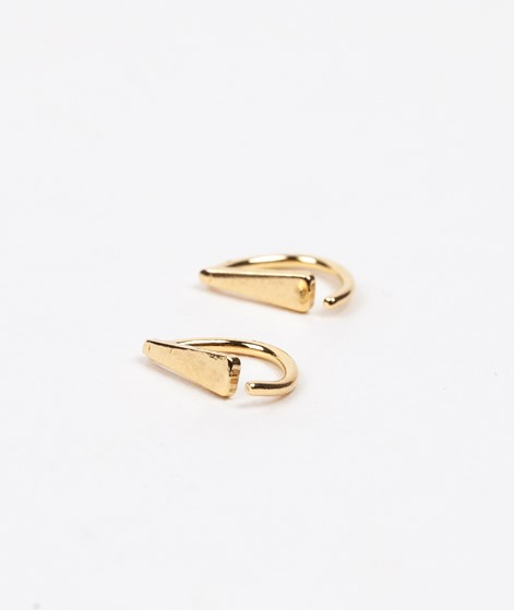 JUKSEREI Drop Twist Ohrringe gold