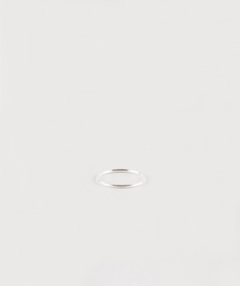 JUKSEREI Rille Ring silber