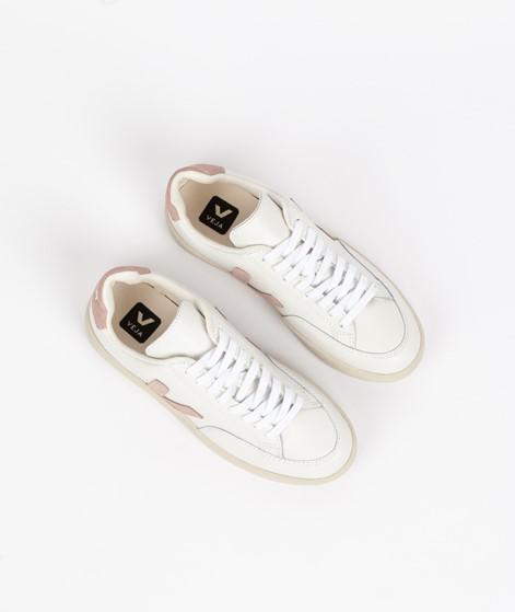 VEJA V 12 Sneaker weiß rosa