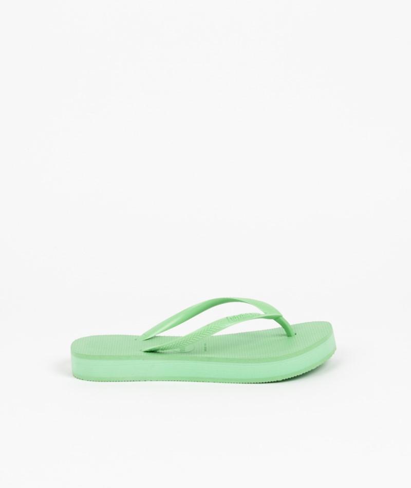 HAVAIANAS Slim Flatform Flip Flop grün