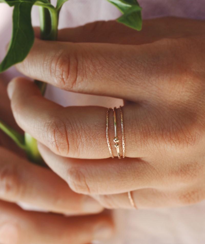 JUKSEREI Boston Ring gold