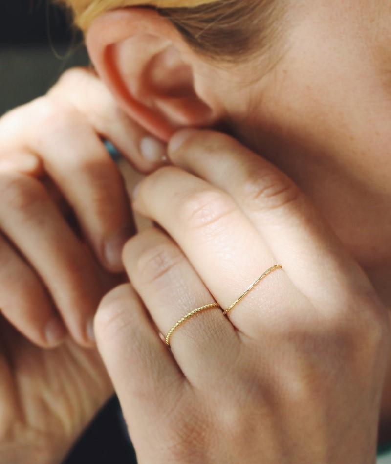 JUKSEREI Spinning Ring gold