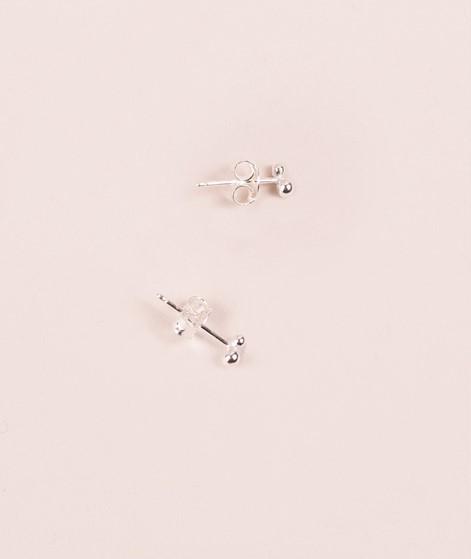 JUKSEREI Pollen Ear Stud silber