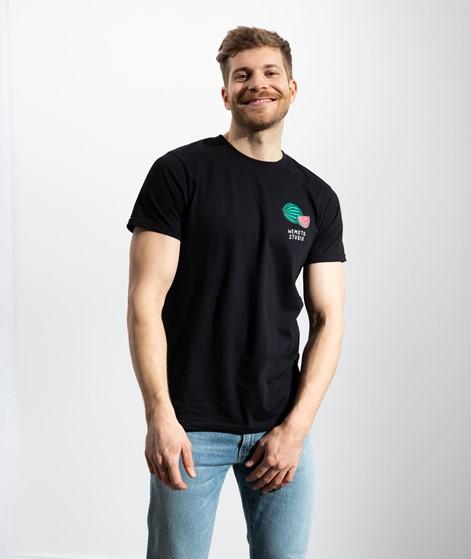 WEMOTO Melon T-Shirt schwarz