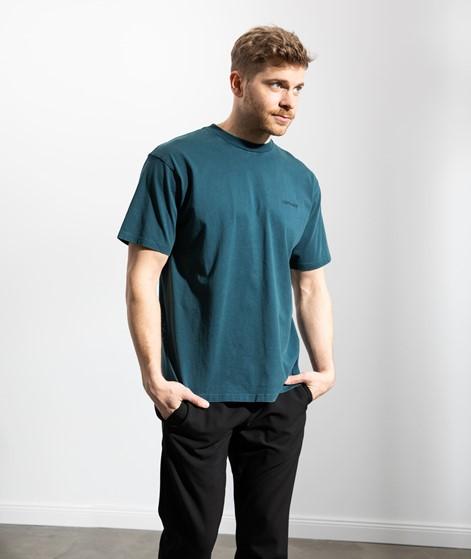 CARHARTT WIP Mosby Script T-Shirt blau