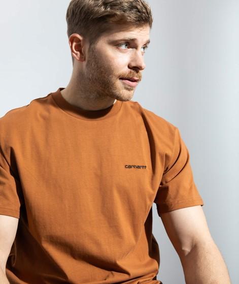 CARHARTT EmbroideryT-Shirt braun