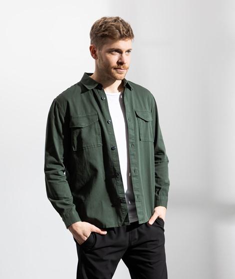 NOWADAYS Soft Twill Overshirt khaki