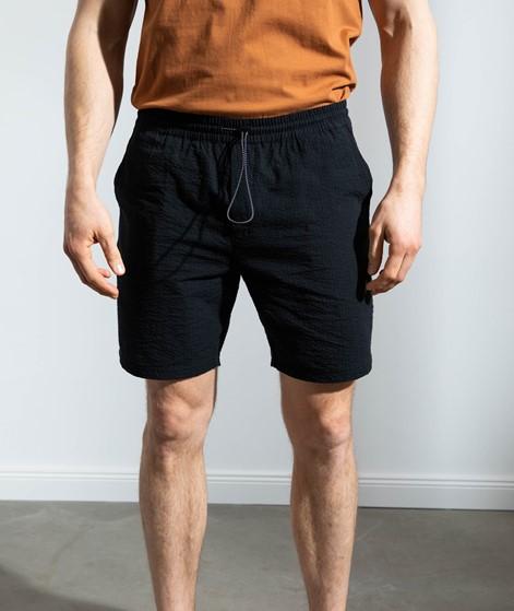 NOWADAYS Seersucker Shorts dunkelblau