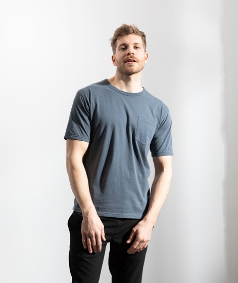 MINIMUM Haris T-Shirt blau