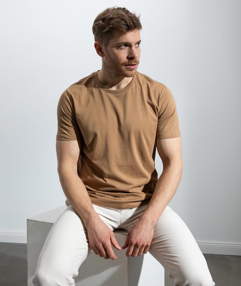 MINIMUM Luka T-Shirt braun