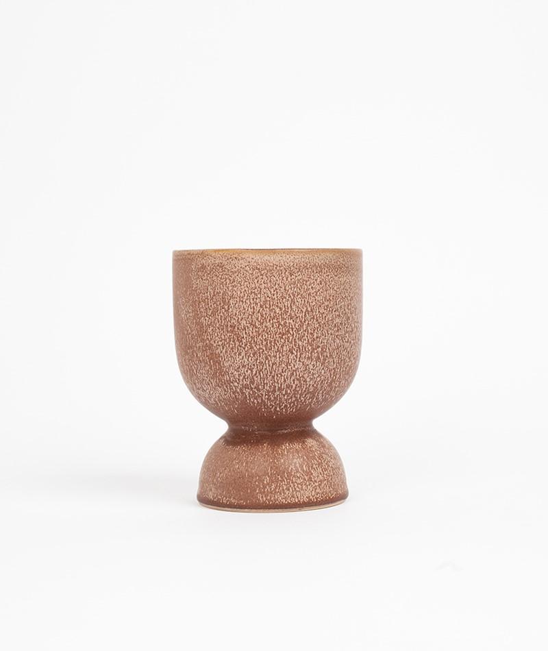 MADAM STOLTZ Stoneware Blumentopf rosa