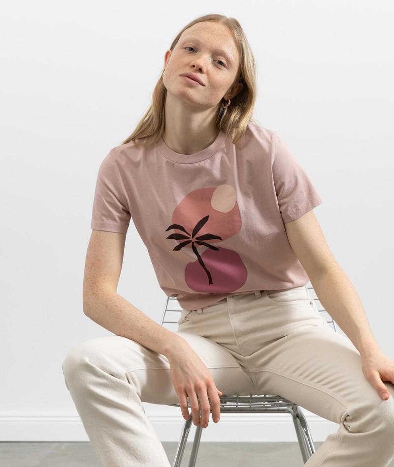 KAUF DICH GLÜCKLICH T-Shirt soft berry