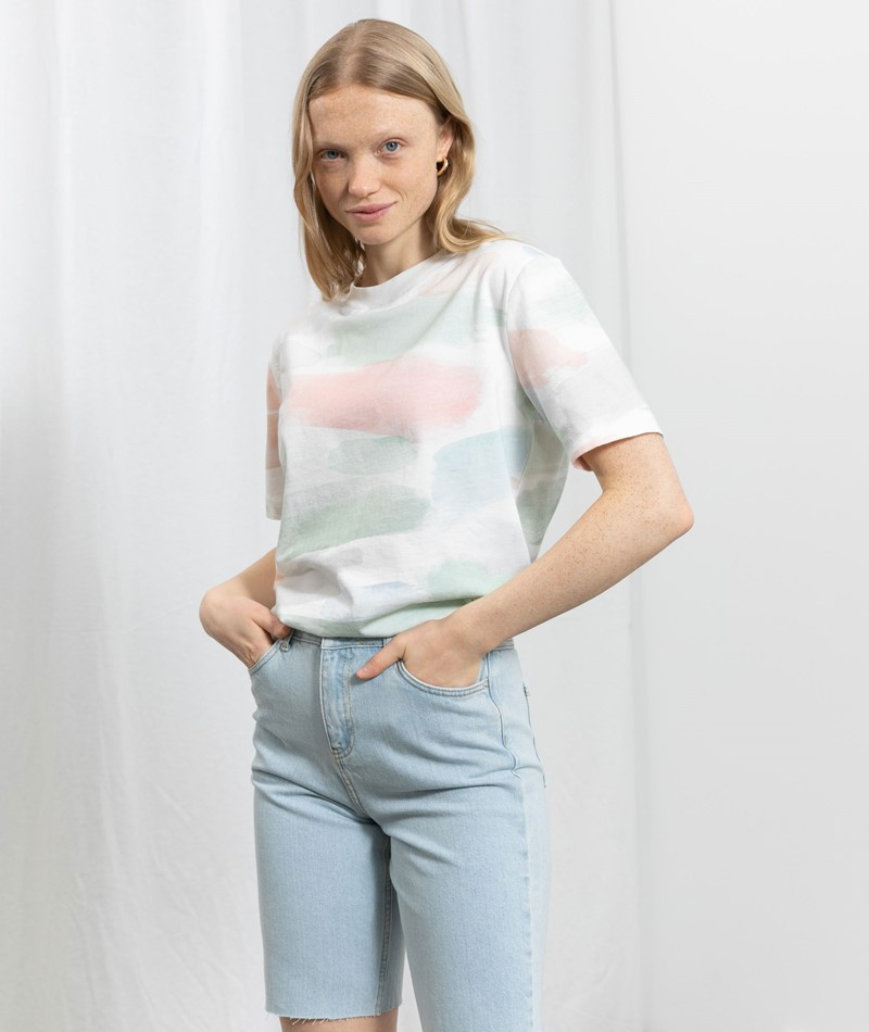 ARMEDANGELS Taraa Color Strokes T-Shirt