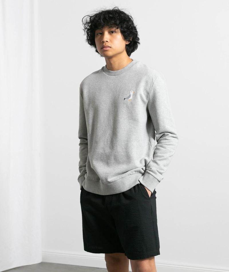 KAUF DICH GLÜCKLICH Sweater light grey