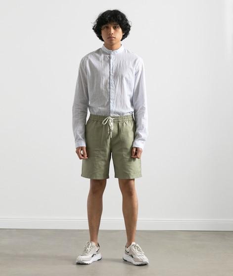NOWADAYS Linen Shorts grün