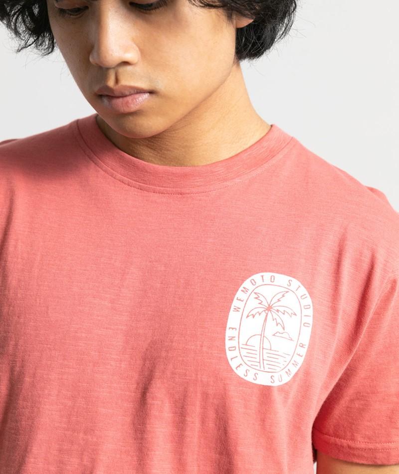 WEMOTO Endless T-Shirt rot