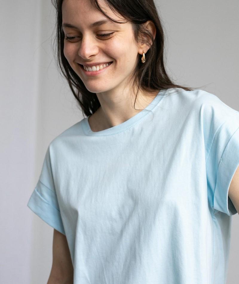 MOSS COPENHAGEN Alva STD T-Shirt blue