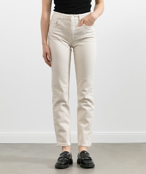 WHY7 Mercury Straight Jeans beige