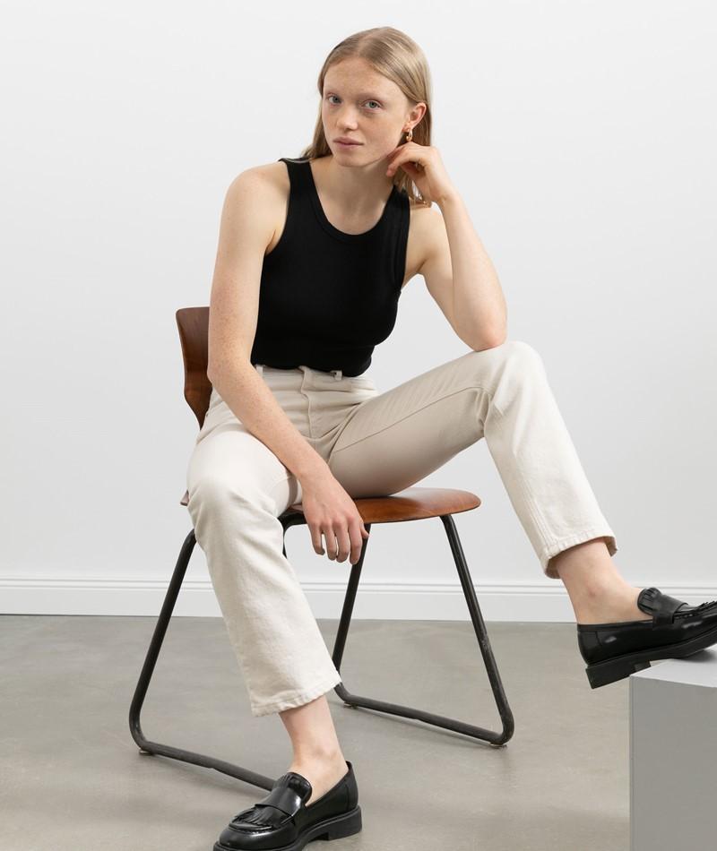 WHY7 Mercury Straight Jeans beige