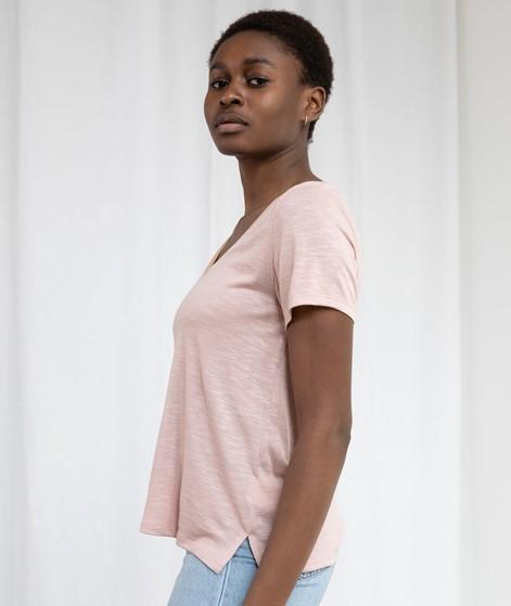 VILA VINoel V-Neck T-Shirt rosa