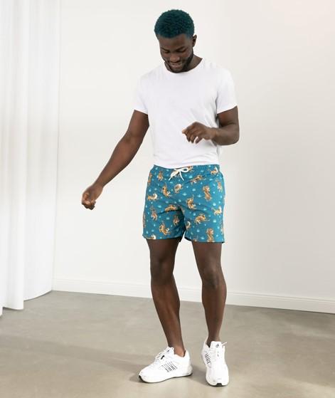 OLOW De Bain Fauve Shorts print