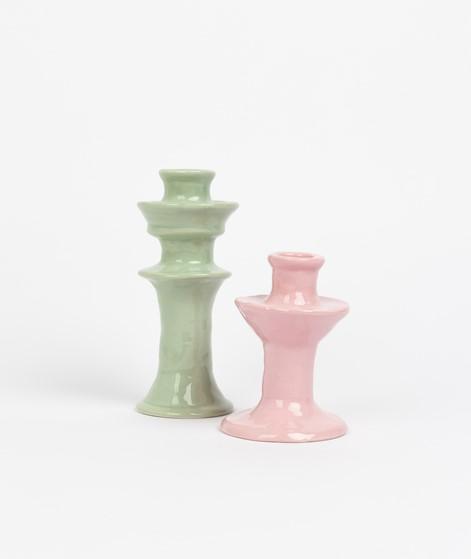 ANNA + NINA Kerzenhalter grün