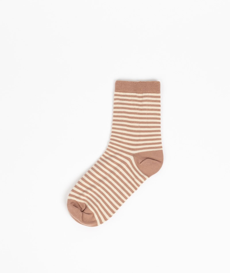 ORGANIC BASICS Color Striped Socken