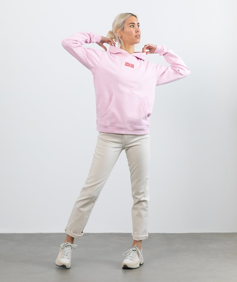 GIRLS ARE AWESOME Beafriend Hoodie rosa