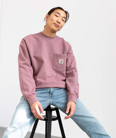 CARHARTT Pocket Sweater lila