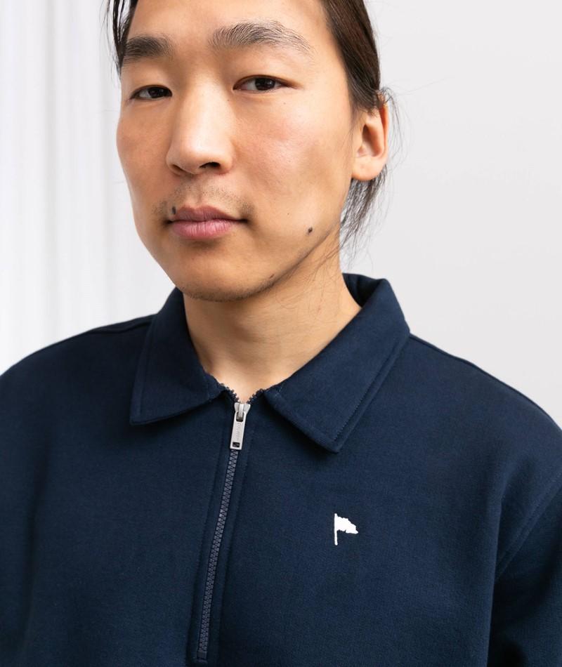 WEMOTO Caine Sweater blau