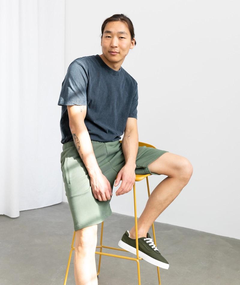 CARHARTT WIP Pocket Sweat Short grün