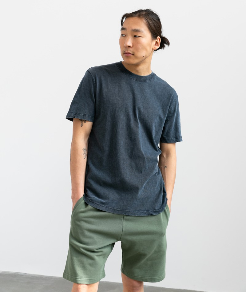 SELECTED HOMME SLHRelaxherb T-Shirt blau