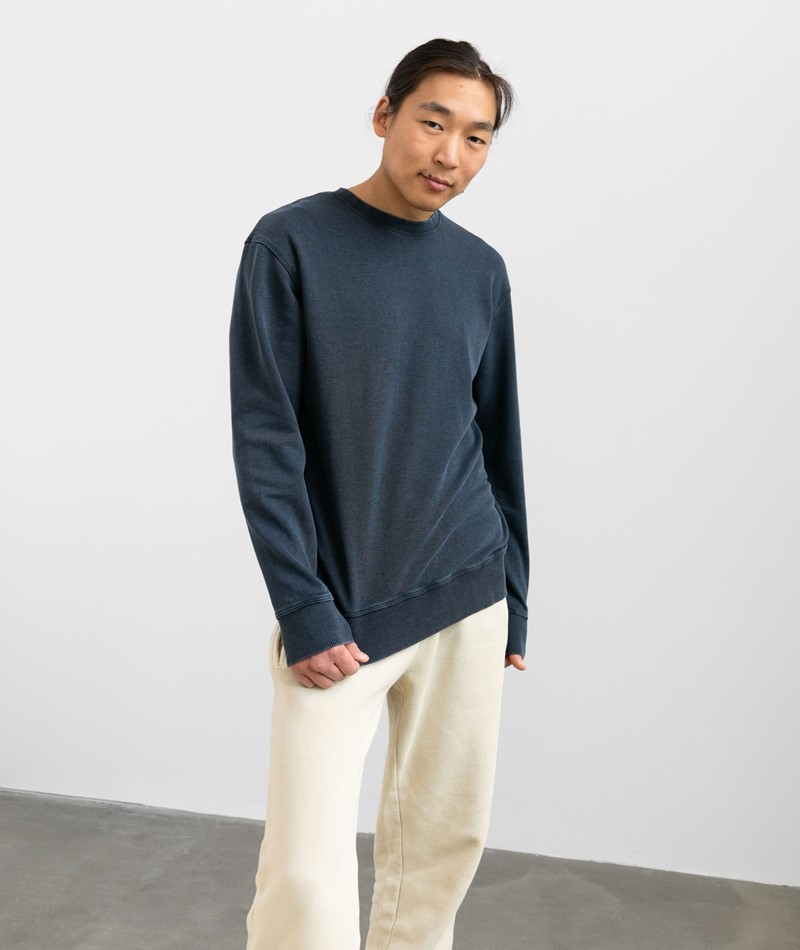 SELECTED HOMME SLHRelaxluis Sweater blau