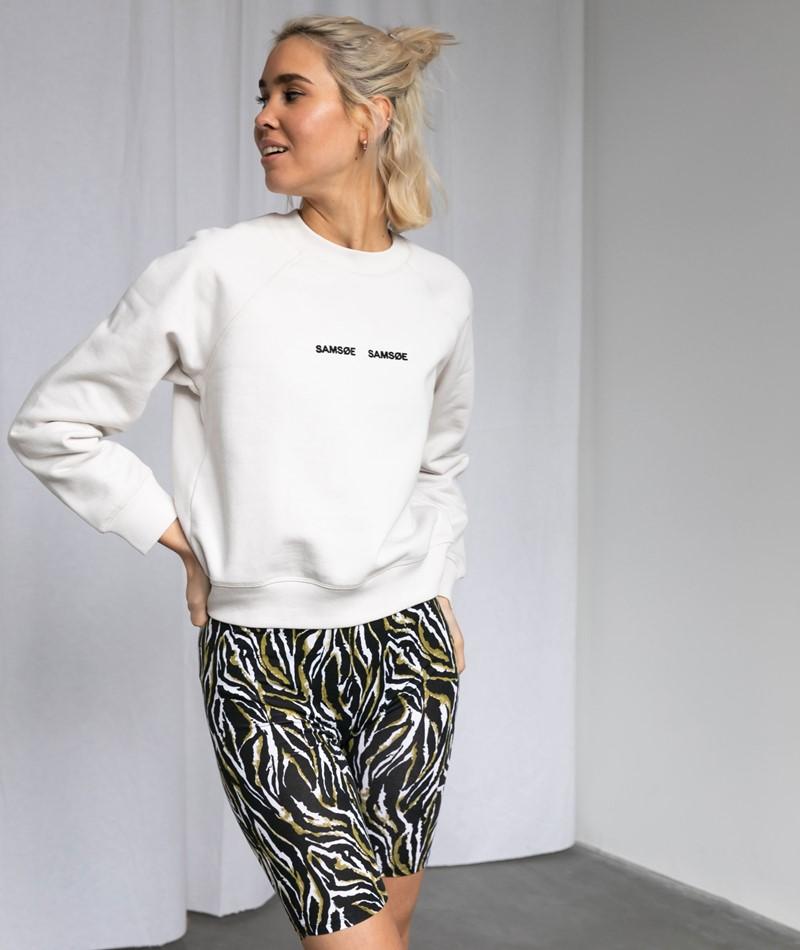 SAMSOE SAMSOE Barletta Sweater creme