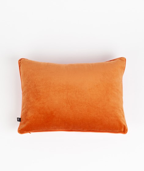 HKLIVING Satin Kissen 35x50  orange/pink
