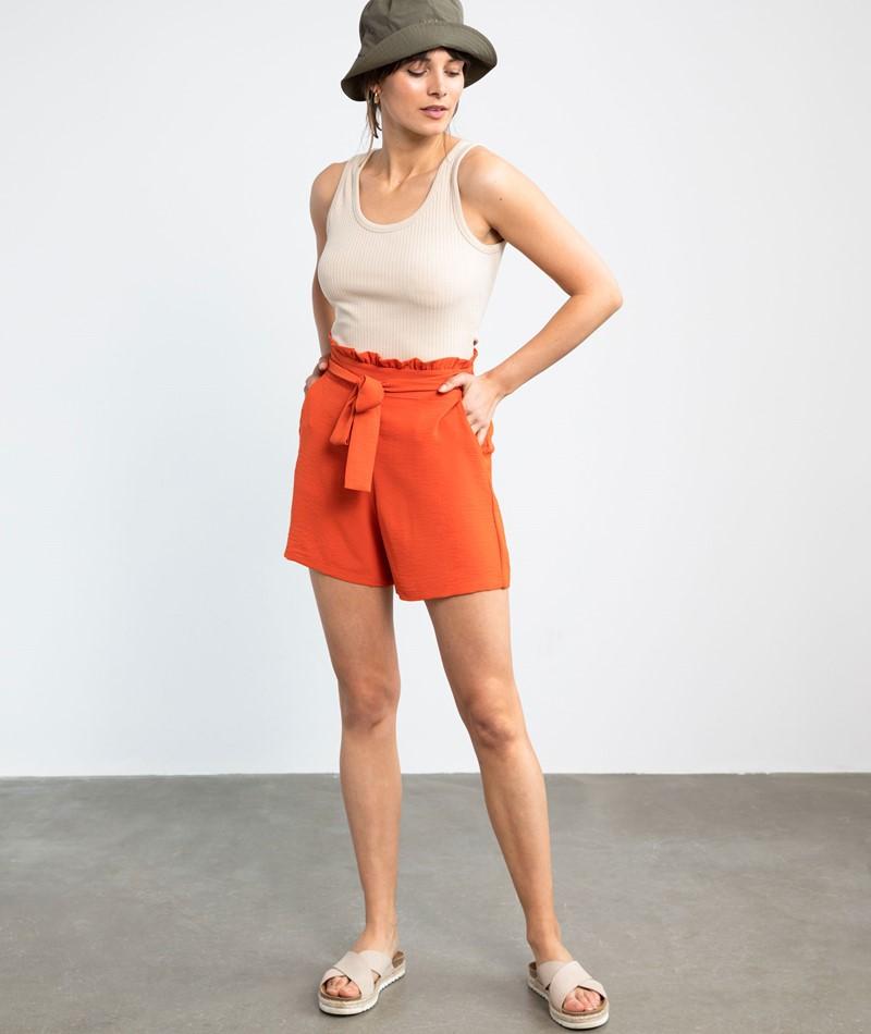 VILA VIRasha Shorts rot