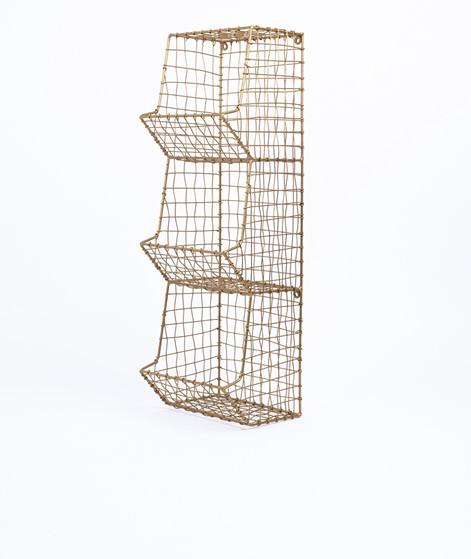 MADAM STOLTZ Iron Wire Regal gold
