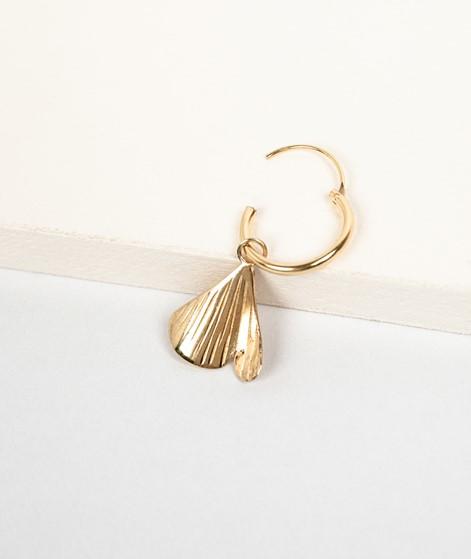 FLAWED Modern Ginko Hoop gold