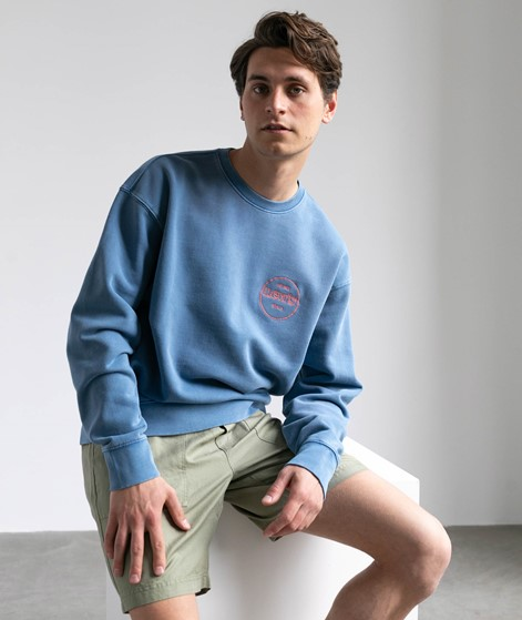 LEVIS Relaxed T2 Graphic Sweater blau