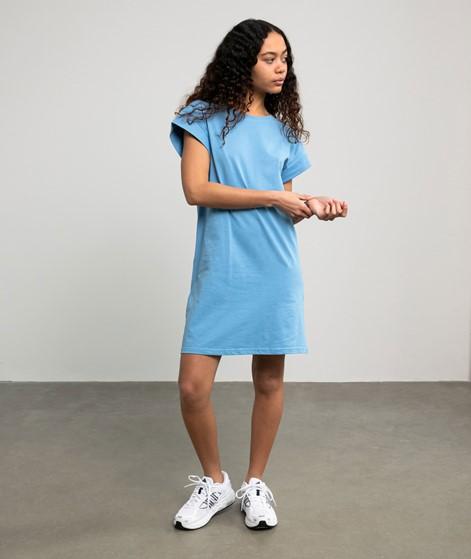 MOSS COPENHAGEN Alvidera Kleid blau