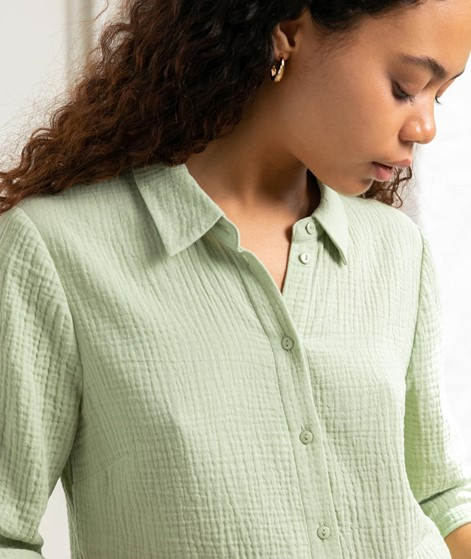 ANOTHER LABEL Biset Bluse mint