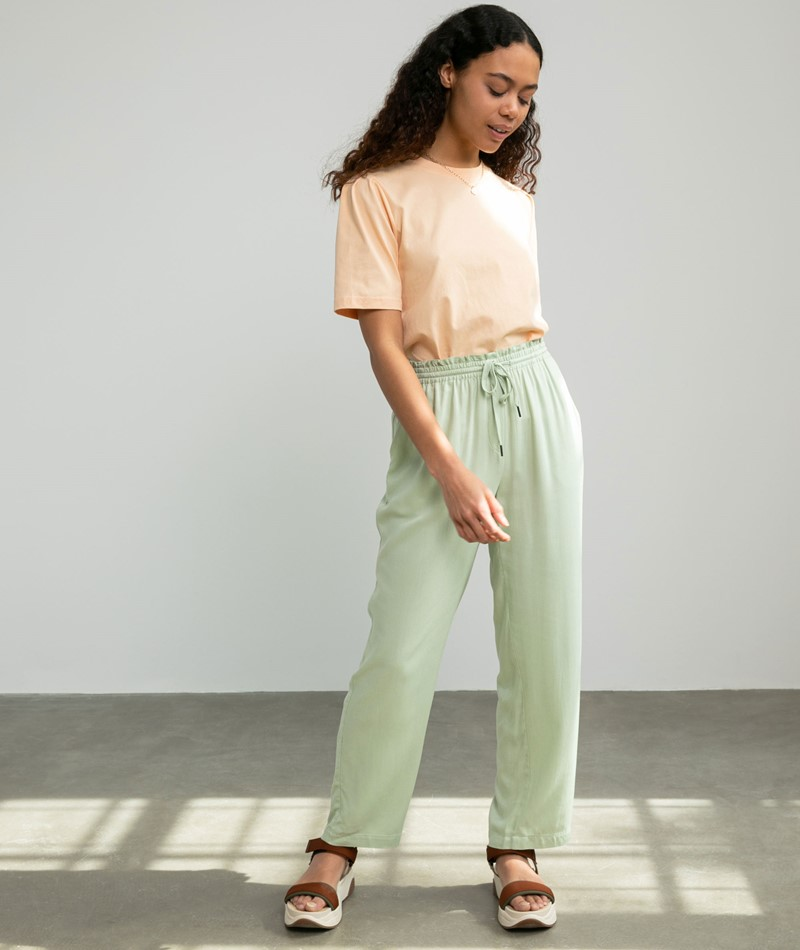 ANOTHER LABEL Seisen Twill Hose mint