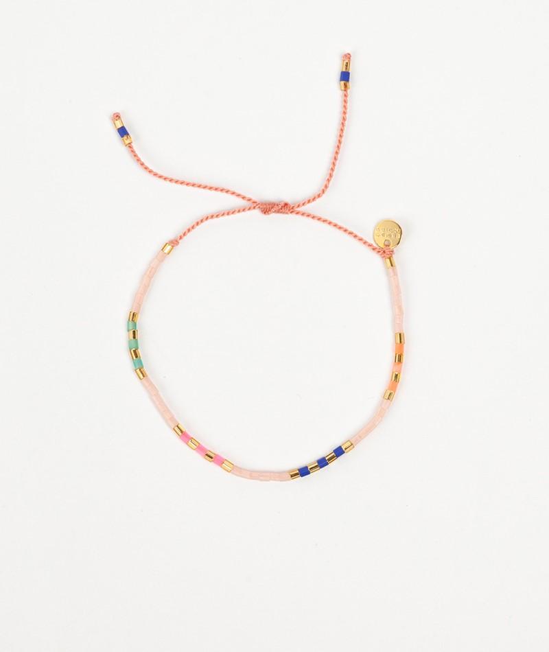 BLUSH INDIGO Sweet String Armband multi