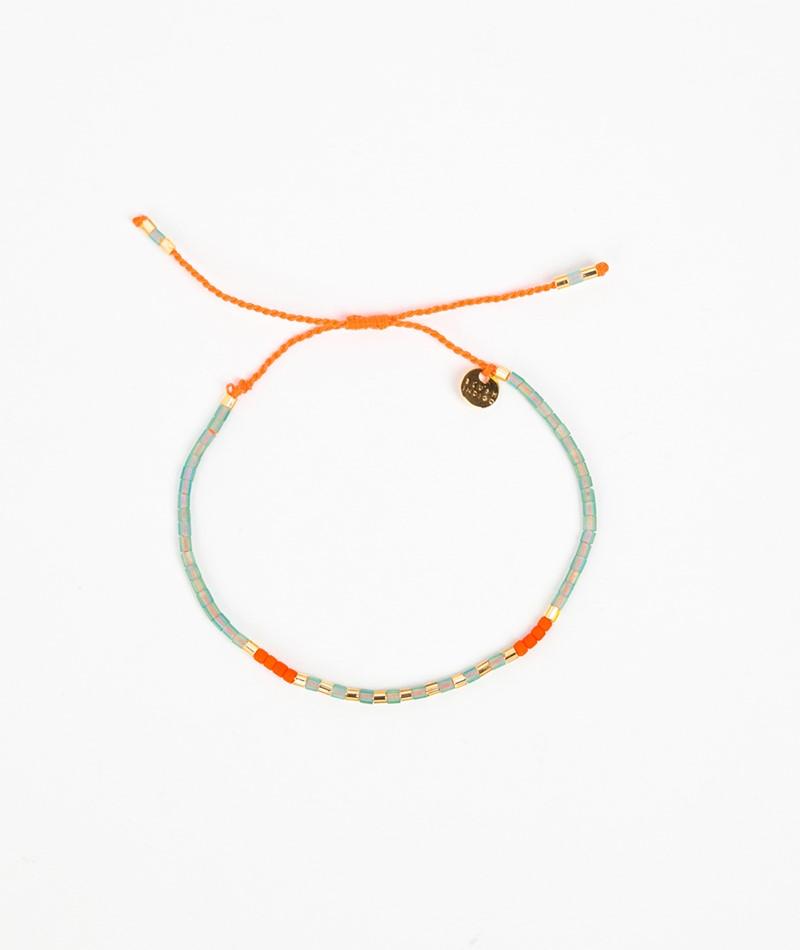 BLUSH INDIGO Sweet String Armband orange