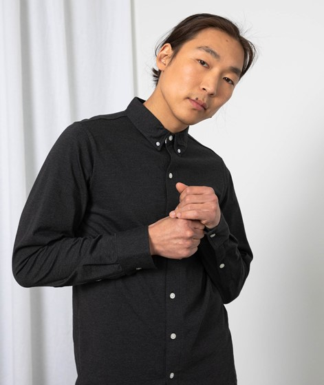 WEMOTO Shaw Hemd schwarz