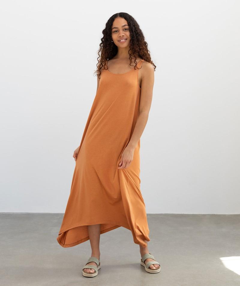 ARMEDANGELS Aamy Kleid orange