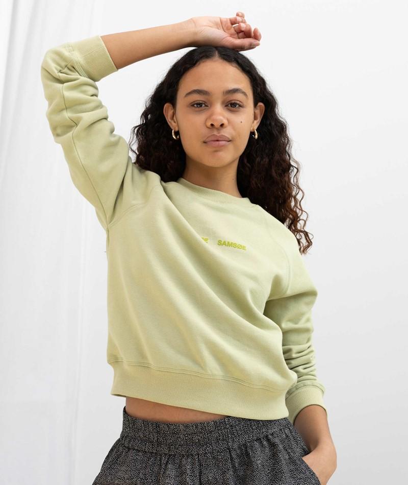 SAMSOE SAMSOE Barletta Sweater grün
