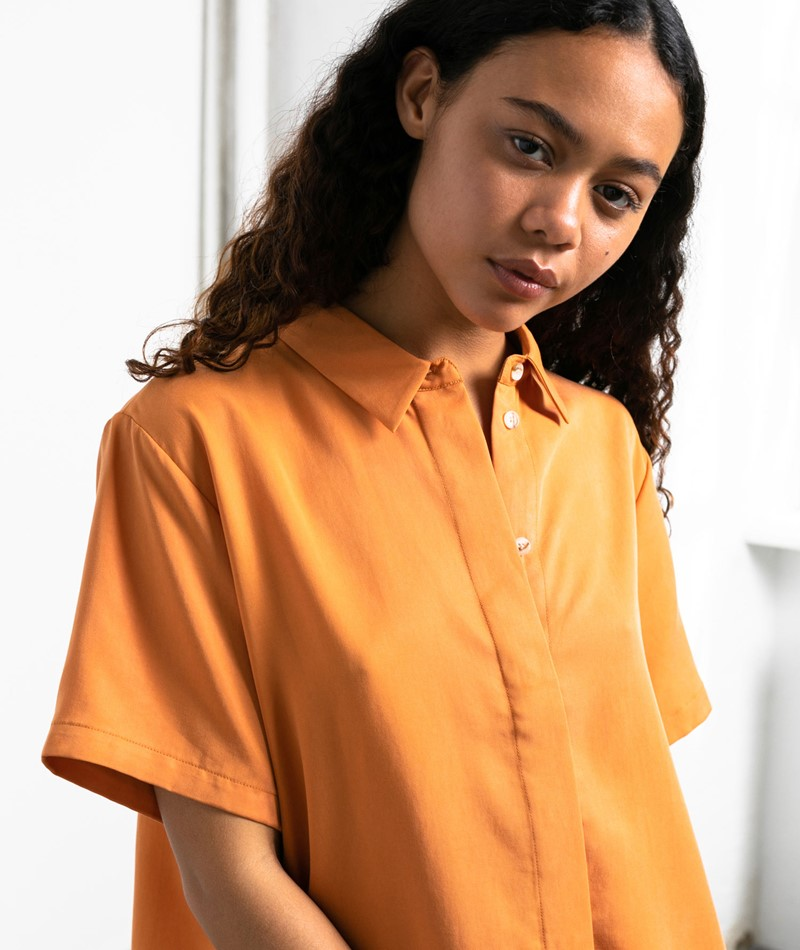SAMSOE SAMSOE Mina Bluse orange