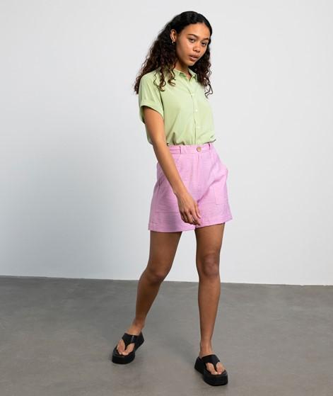 YAS Leno Shorts pink