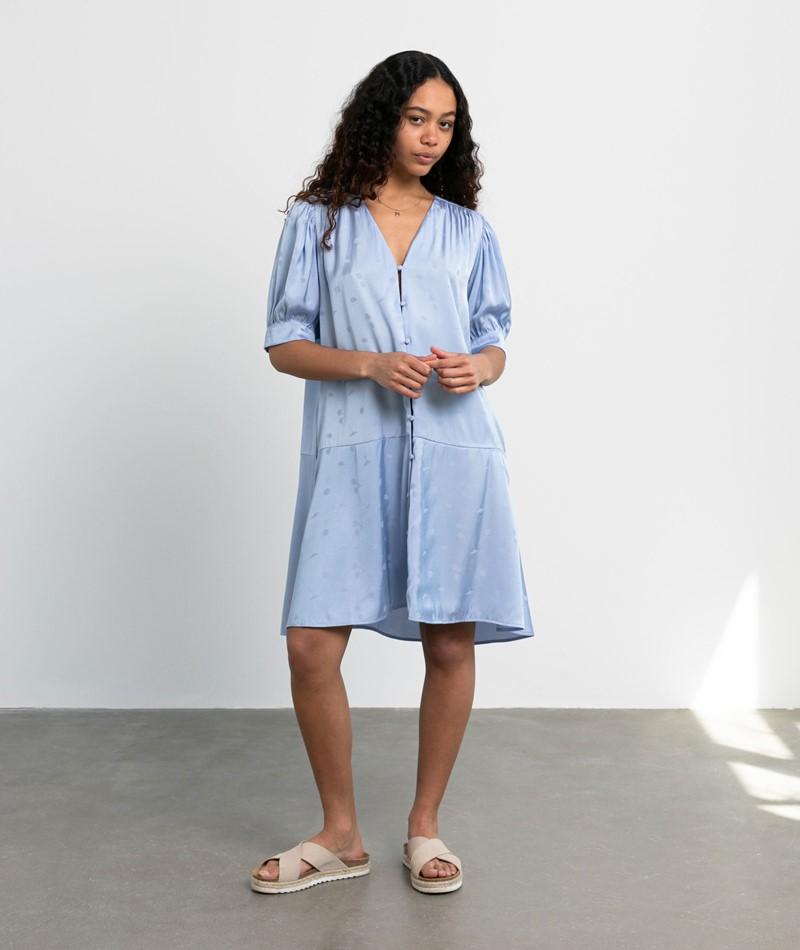 SAMSOE SAMSOE Jetta Kleid blau